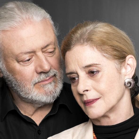 Mario Gas y Vicky Peña