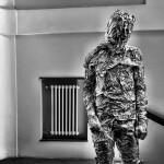 En la escalinata surgió un Giacometti con sobrepeso