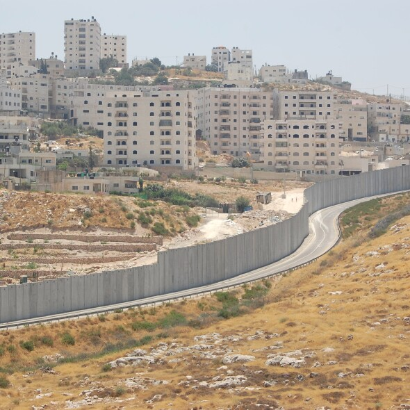 Muros Israel-Palestina